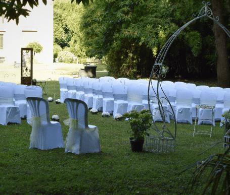 cérémonie laique mariage rennes dans le parc