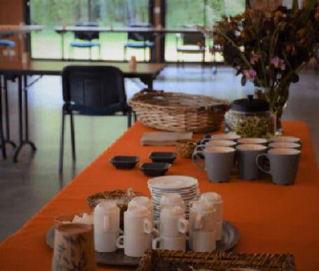 location de salle de réunion dans un domaine pour seminaire ou teambuilding d'entreprise au centre de l'Ille et vilaine