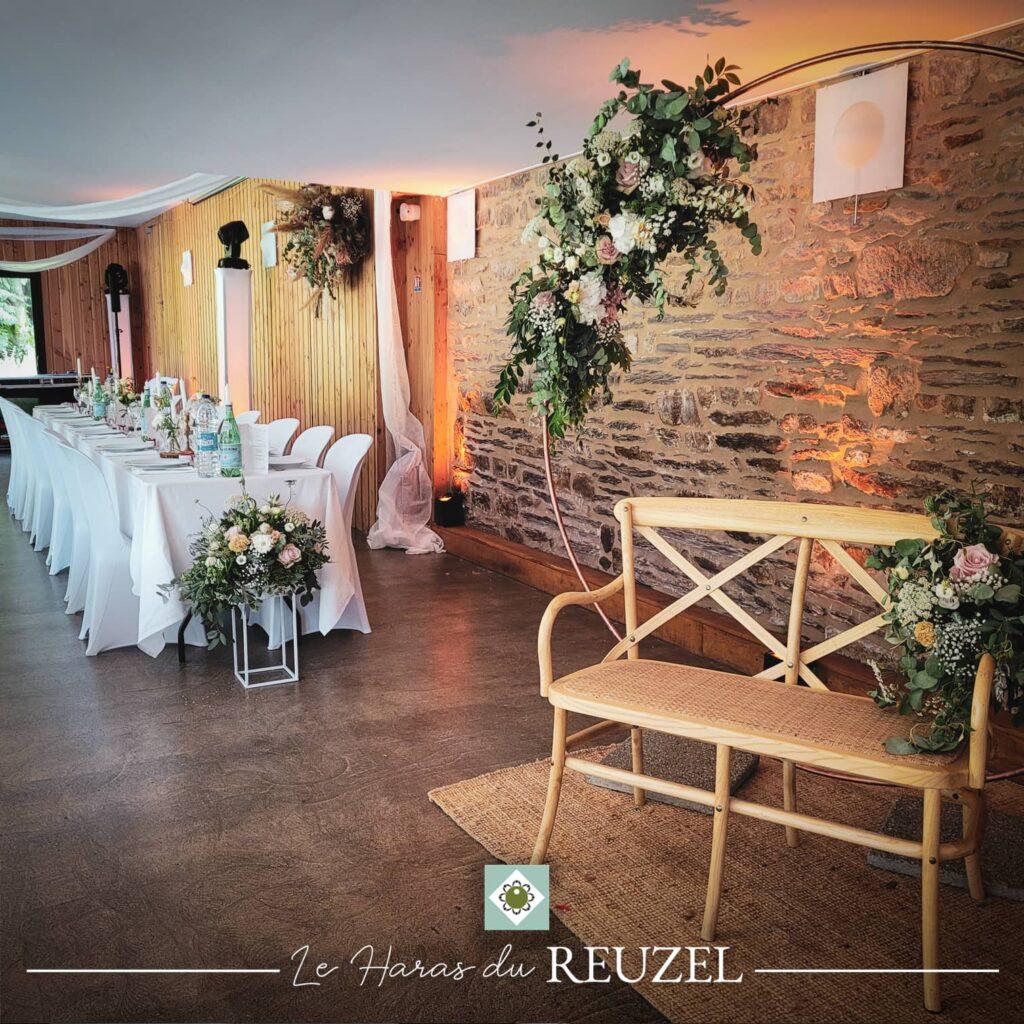 Photobooth du mariage champêtre près de Rennes avec wedding planner